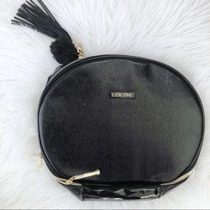 New Lancôme Paris Large Makeup Bag Black